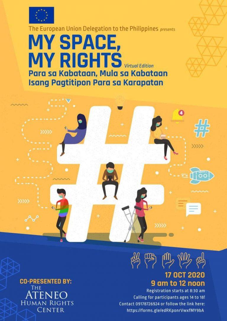MY SPACE, MY RIGHTS Virtual Edition - Emilio Aguinaldo College